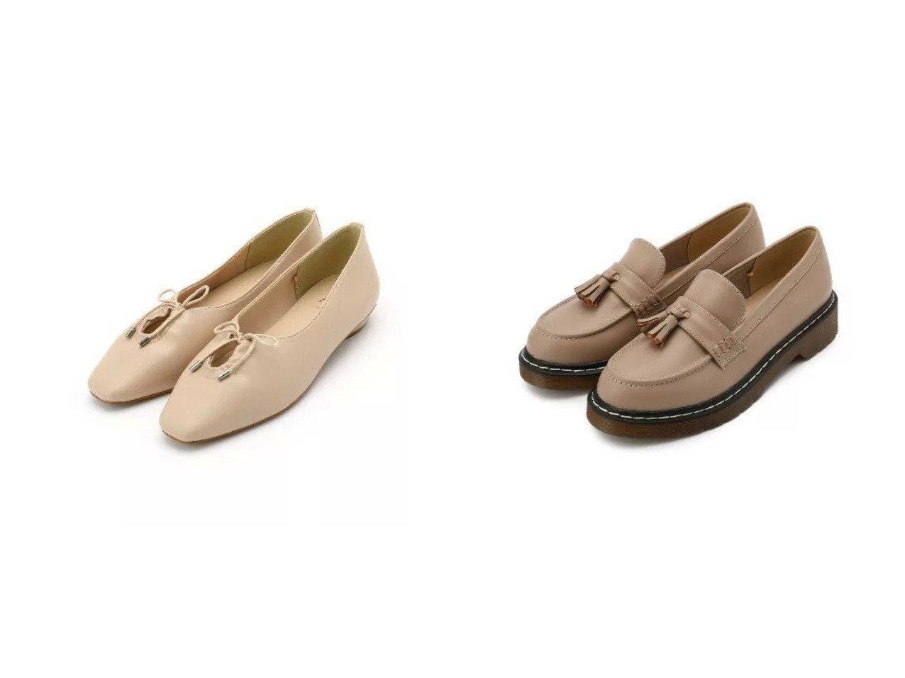 【AG by aquagirl/エージー バイ アクアガール】のスクエアギャザーリボンフラットシューズ&厚底タッセルローファー シューズ・靴のおすすめ!人気、トレンド・レディースファッションの通販 おすすめで人気の流行・トレンド、ファッションの通販商品 メンズファッション・キッズファッション・インテリア・家具・レディースファッション・服の通販 founy(ファニー) https://founy.com/ ファッション Fashion レディースファッション WOMEN インソール クッション シューズ ソックス タイツ トレンド フェミニン 厚底 ジャージ スクエア フェイクレザー フラット |ID:crp329100000023356