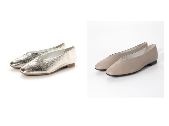 【TALANTON RELAXING/タラントン リラクシング】のスクエアトゥVカットフラットシューズ シューズ・靴のおすすめ!人気、トレンド・レディースファッションの通販 おすすめファッション通販アイテム レディースファッション・服の通販 founy(ファニー) ファッション Fashion レディースファッション WOMEN 2021年 2021 2021 春夏 S/S SS Spring/Summer 2021 S/S 春夏 SS Spring/Summer シューズ トレンド フラット 春 Spring  ID:crp329100000023358