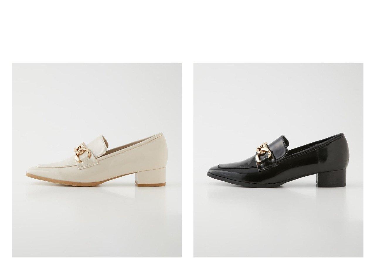 【rienda/リエンダ】のスクエアトゥチェーンローファー シューズ・靴のおすすめ!人気、トレンド・レディースファッションの通販 おすすめで人気の流行・トレンド、ファッションの通販商品 メンズファッション・キッズファッション・インテリア・家具・レディースファッション・服の通販 founy(ファニー) https://founy.com/ ファッション Fashion レディースファッション WOMEN シューズ スクエア チェーン |ID:crp329100000023359