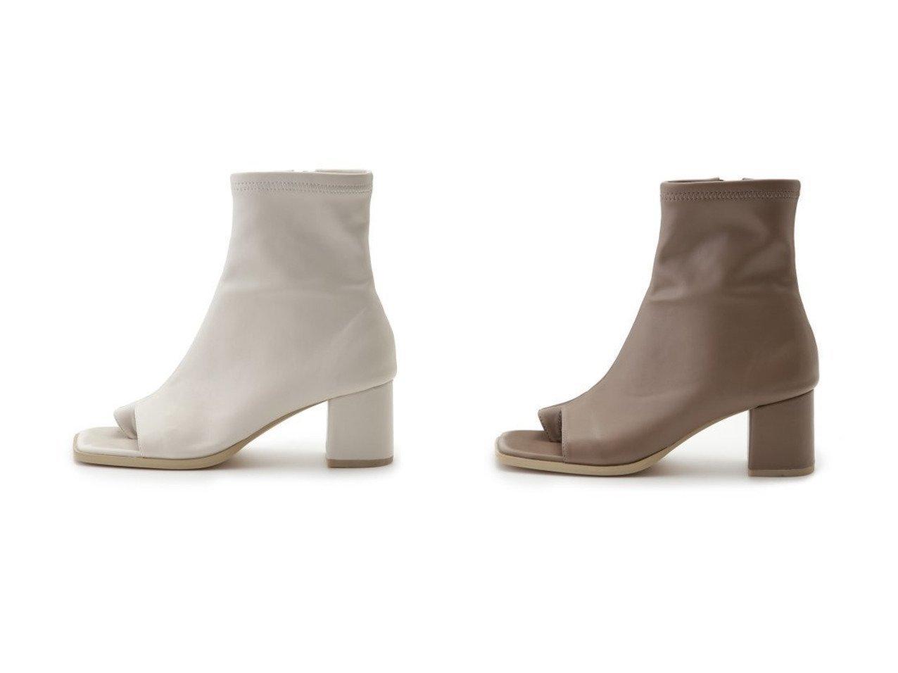 【FRAY I.D/フレイ アイディー】のオープントングブーツ シューズ・靴のおすすめ!人気、トレンド・レディースファッションの通販 おすすめで人気の流行・トレンド、ファッションの通販商品 メンズファッション・キッズファッション・インテリア・家具・レディースファッション・服の通販 founy(ファニー) https://founy.com/ ファッション Fashion レディースファッション WOMEN サンダル シューズ ジップ ストレッチ スマート バランス 再入荷 Restock/Back in Stock/Re Arrival |ID:crp329100000023363