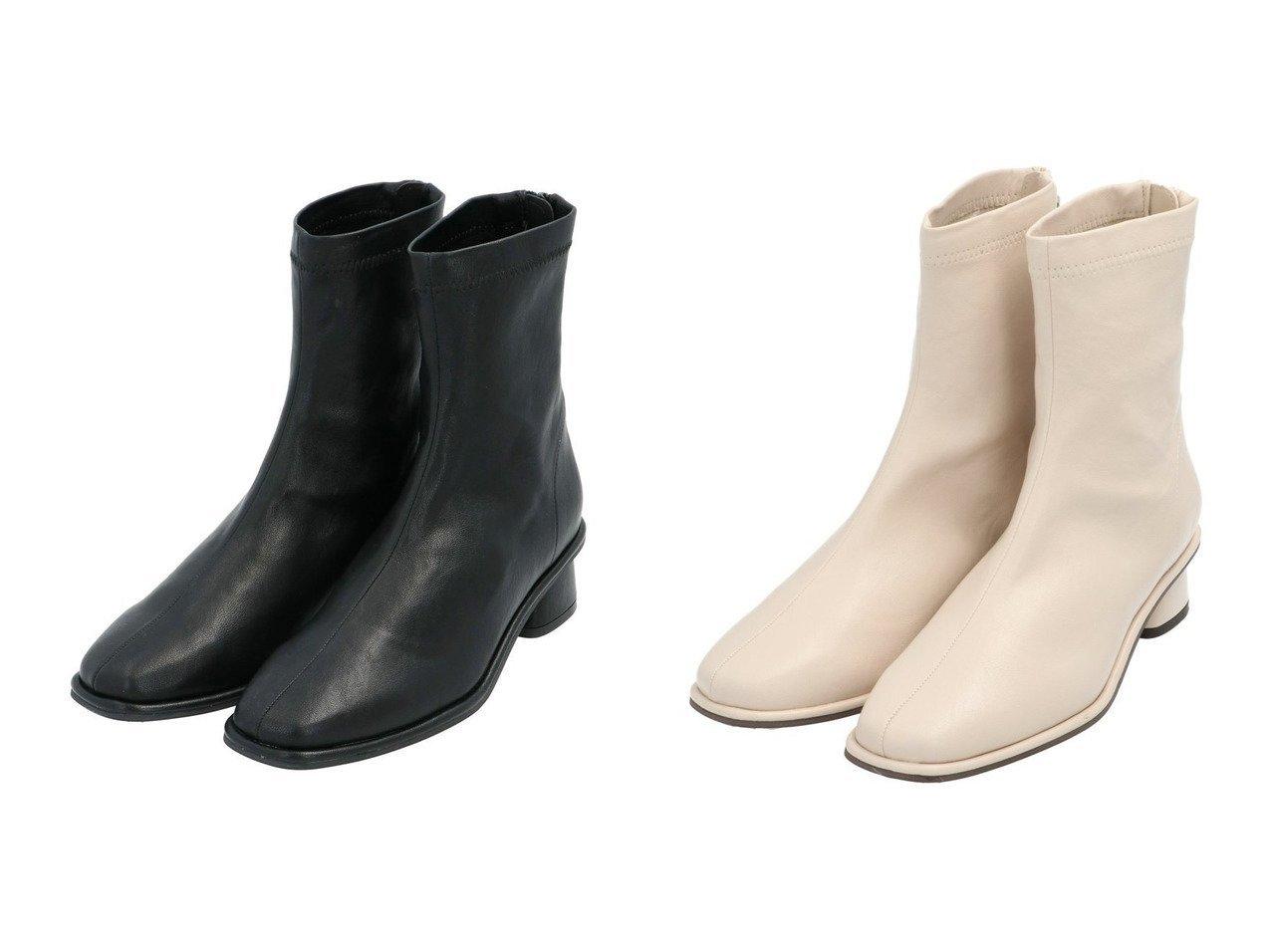 【apart by lowrys/アパートバイローリーズ】のFレザーローヒールSブーツ シューズ・靴のおすすめ!人気、トレンド・レディースファッションの通販 おすすめで人気の流行・トレンド、ファッションの通販商品 メンズファッション・キッズファッション・インテリア・家具・レディースファッション・服の通販 founy(ファニー) https://founy.com/ ファッション Fashion レディースファッション WOMEN おすすめ Recommend シューズ ショート ストレッチ トレンド |ID:crp329100000023364