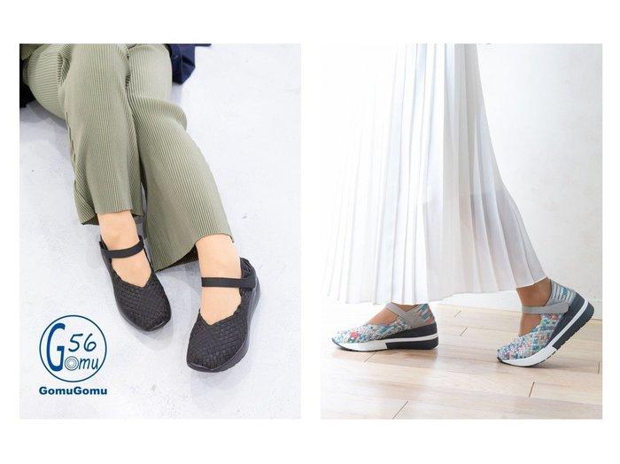 【GomuGomu/ゴムゴム】のGomu56(ゴムゴム)厚底ウェッジソールストラップシューズ シューズ・靴のおすすめ!人気、トレンド・レディースファッションの通販 おすすめファッション通販アイテム レディースファッション・服の通販 founy(ファニー) ファッション Fashion レディースファッション WOMEN シューズ ストラップシューズ 厚底  ID:crp329100000023369