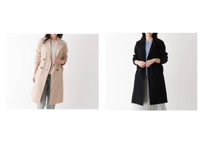 【SHOO LA RUE / DRESKIP/シューラルー ドレスキップ】の【抗菌・撥水】トレンチコート アウターのおすすめ!人気、トレンド・レディースファッションの通販 おすすめ人気トレンドファッション通販アイテム 人気、トレンドファッション・服の通販 founy(ファニー) ファッション Fashion レディースファッション WOMEN アウター Coat Outerwear コート Coats トレンチコート Trench Coats クラシカル ポケット 抗菌 |ID:crp329100000023586