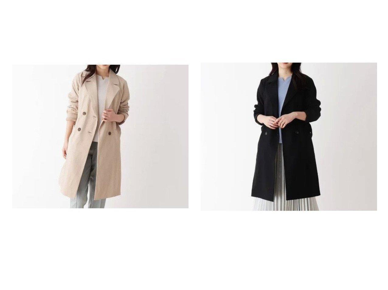 【SHOO LA RUE / DRESKIP/シューラルー ドレスキップ】の【抗菌・撥水】トレンチコート アウターのおすすめ!人気、トレンド・レディースファッションの通販 おすすめで人気の流行・トレンド、ファッションの通販商品 メンズファッション・キッズファッション・インテリア・家具・レディースファッション・服の通販 founy(ファニー) https://founy.com/ ファッション Fashion レディースファッション WOMEN アウター Coat Outerwear コート Coats トレンチコート Trench Coats クラシカル ポケット 抗菌  ID:crp329100000023586