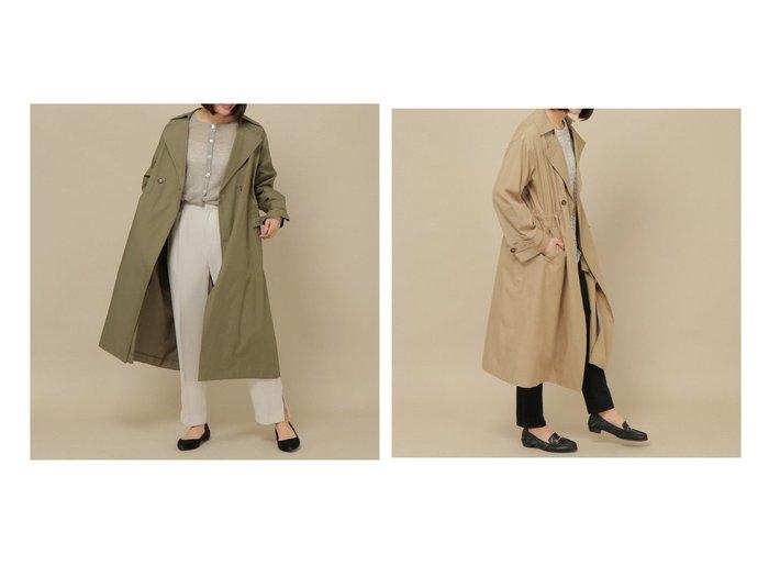 【ikka/イッカ】のオーガニックコットンゆるトレンチコート アウターのおすすめ!人気、トレンド・レディースファッションの通販 おすすめファッション通販アイテム レディースファッション・服の通販 founy(ファニー)  ファッション Fashion レディースファッション WOMEN アウター Coat Outerwear コート Coats トレンチコート Trench Coats NEW・新作・新着・新入荷 New Arrivals |ID:crp329100000023598