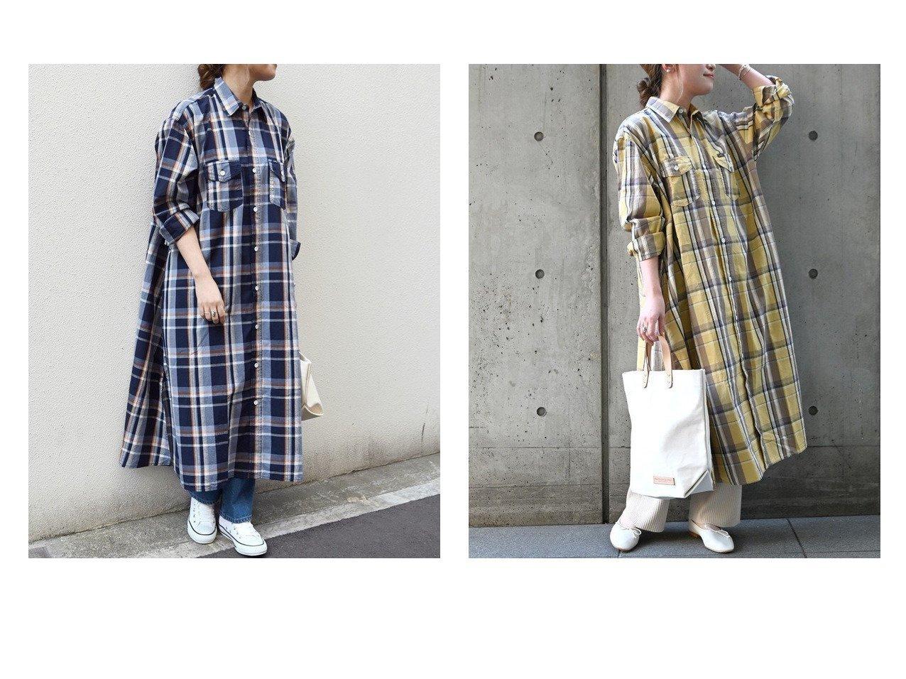 【SHIPS any/シップス エニィ】の【SHIPS any別注】Lee チェック シャツワンピース ワンピース・ドレスのおすすめ!人気、トレンド・レディースファッションの通販 おすすめで人気の流行・トレンド、ファッションの通販商品 メンズファッション・キッズファッション・インテリア・家具・レディースファッション・服の通販 founy(ファニー) https://founy.com/ ファッション Fashion レディースファッション WOMEN ワンピース Dress シャツワンピース Shirt Dresses イエロー 春 Spring チェック フレア ベスト 別注 再入荷 Restock/Back in Stock/Re Arrival S/S 春夏 SS Spring/Summer おすすめ Recommend |ID:crp329100000023625