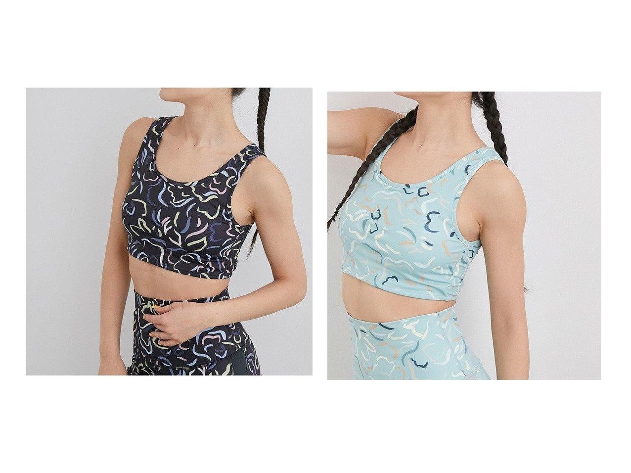【NERGY/ナージー】の【Active Suit】抗菌&防臭 スプリングフラワープリントブラトップ スポーツ・ヨガウェア、運動・ダイエットグッズなどのおすすめ!人気ファッション通販 おすすめで人気の流行・トレンド、ファッションの通販商品 メンズファッション・キッズファッション・インテリア・家具・レディースファッション・服の通販 founy(ファニー) https://founy.com/ ファッション Fashion レディースファッション WOMEN 春 Spring 抗菌 スポーツ スーツ タイツ 手描き フラワー ブラジャー プリント ヨガ ワーク NEW・新作・新着・新入荷 New Arrivals |ID:crp329100000023629