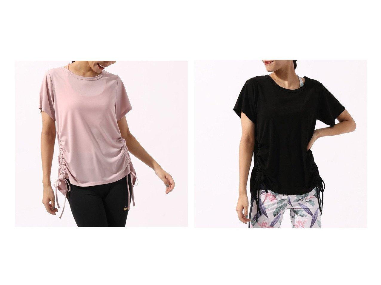 【NERGY/ナージー】のトリアセTシャツ スポーツ・ヨガウェア、運動・ダイエットグッズなどのおすすめ!人気ファッション通販 おすすめで人気の流行・トレンド、ファッションの通販商品 メンズファッション・キッズファッション・インテリア・家具・レディースファッション・服の通販 founy(ファニー) https://founy.com/ ファッション Fashion レディースファッション WOMEN トップス カットソー Tops Tshirt シャツ/ブラウス Shirts Blouses ロング / Tシャツ T-Shirts カットソー Cut and Sewn エレガント カットソー シャーリング ヨガ |ID:crp329100000023631