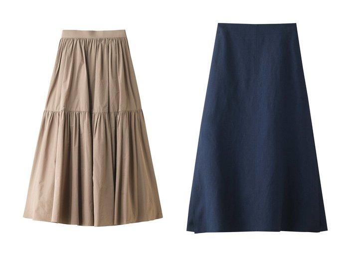 【ebure/エブール】のドライビスリネン サイドスリットスカート&ライトタフタ ティアードスカート スカートのおすすめ!人気、トレンド・レディースファッションの通販 おすすめファッション通販アイテム インテリア・キッズ・メンズ・レディースファッション・服の通販 founy(ファニー) https://founy.com/ ファッション Fashion レディースファッション WOMEN スカート Skirt ロングスカート Long Skirt ティアードスカート Tiered Skirts 2021年 2021 2021 春夏 S/S SS Spring/Summer 2021 S/S 春夏 SS Spring/Summer シンプル スリット ロング 今季 春 Spring |ID:crp329100000023643