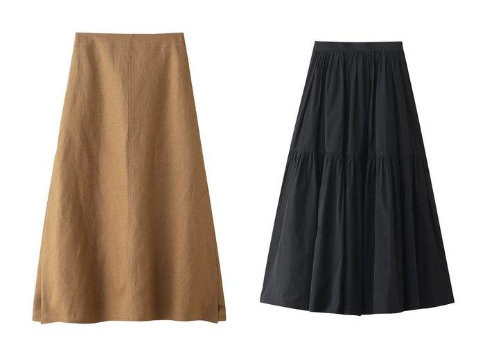 【ebure/エブール】のドライビスリネン サイドスリットスカート&ライトタフタ ティアードスカート スカートのおすすめ!人気、トレンド・レディースファッションの通販 おすすめファッション通販アイテム インテリア・キッズ・メンズ・レディースファッション・服の通販 founy(ファニー) https://founy.com/ ファッション Fashion レディースファッション WOMEN スカート Skirt ティアードスカート Tiered Skirts ロングスカート Long Skirt 2021年 2021 2021 春夏 S/S SS Spring/Summer 2021 S/S 春夏 SS Spring/Summer シンプル タフタ ティアードスカート マキシ ロング 春 Spring |ID:crp329100000023644