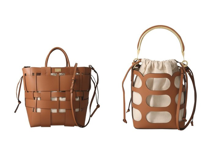【ZANCHETTI/ザンチェッティ】のORAZIO BUCKET SMALL レザー×ファブリックハンドバッグ&W SHOPPER イントレチャートトートバッグ バッグ・鞄のおすすめ!人気、トレンド・レディースファッションの通販 おすすめファッション通販アイテム インテリア・キッズ・メンズ・レディースファッション・服の通販 founy(ファニー) https://founy.com/ ファッション Fashion レディースファッション WOMEN バッグ Bag 2021年 2021 2021 春夏 S/S SS Spring/Summer 2021 S/S 春夏 SS Spring/Summer カッティング コンビ ハンドバッグ パーティ ファブリック メタリック ラップ 春 Spring |ID:crp329100000023650