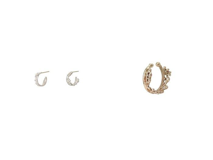【KAORU/カオル】のFUSION K10 ピンクゴールド イヤーカフ S&FUSION シルバー ピアス S おすすめ!人気、トレンド・レディースファッションの通販 おすすめファッション通販アイテム インテリア・キッズ・メンズ・レディースファッション・服の通販 founy(ファニー) https://founy.com/ ファッション Fashion レディースファッション WOMEN ジュエリー Jewelry リング Rings イヤリング Earrings 2021年 2021 2021 春夏 S/S SS Spring/Summer 2021 S/S 春夏 SS Spring/Summer イヤーカフ シンプル モチーフ レース 春 Spring 片耳 シルバー フープ  ID:crp329100000023676