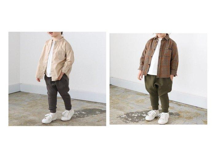 【quoti use fith / KIDS/クオティ ユース フィス】の裏毛サルエルロングパンツ 【KIDS】子供服のおすすめ!人気トレンド・キッズファッションの通販 おすすめ人気トレンドファッション通販アイテム 人気、トレンドファッション・服の通販 founy(ファニー)  ファッション Fashion キッズファッション KIDS ボトムス Bottoms Kids 2020年 2020 2020-2021 秋冬 A/W AW Autumn/Winter / FW Fall-Winter 2020-2021 A/W 秋冬 AW Autumn/Winter / FW Fall-Winter カットソー ストレッチ 人気 定番 Standard |ID:crp329100000023687