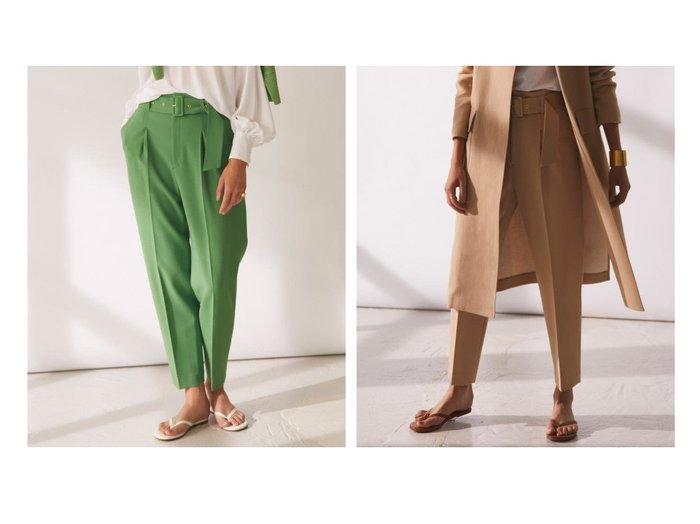 【BEIGE,/ベイジ,】のテーパードパンツ パンツのおすすめ!人気、トレンド・レディースファッションの通販 おすすめファッション通販アイテム レディースファッション・服の通販 founy(ファニー) ファッション Fashion レディースファッション WOMEN パンツ Pants 2020年 2020 2020-2021 秋冬 A/W AW Autumn/Winter / FW Fall-Winter 2020-2021 A/W 秋冬 AW Autumn/Winter / FW Fall-Winter 再入荷 Restock/Back in Stock/Re Arrival |ID:crp329100000023828