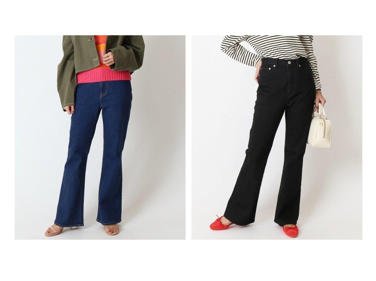 【U by Spick&Span/ユーバイ スピック&スパン】のハイウエストフレアデニム パンツのおすすめ!人気、トレンド・レディースファッションの通販 おすすめで人気の流行・トレンド、ファッションの通販商品 メンズファッション・キッズファッション・インテリア・家具・レディースファッション・服の通販 founy(ファニー) https://founy.com/ ファッション Fashion レディースファッション WOMEN パンツ Pants デニムパンツ Denim Pants 2021年 2021 2021 春夏 S/S SS Spring/Summer 2021 S/S 春夏 SS Spring/Summer デニム 人気 再入荷 Restock/Back in Stock/Re Arrival |ID:crp329100000023843