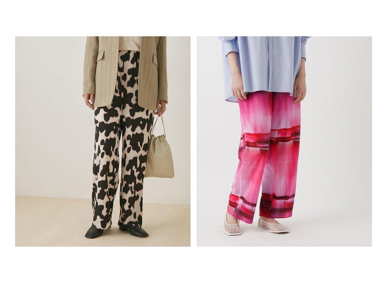 【ADAM ET ROPE'/アダム エ ロペ】のデシンプリントイージーパンツ パンツのおすすめ!人気、トレンド・レディースファッションの通販 おすすめで人気の流行・トレンド、ファッションの通販商品 メンズファッション・キッズファッション・インテリア・家具・レディースファッション・服の通販 founy(ファニー) https://founy.com/ ファッション Fashion レディースファッション WOMEN パンツ Pants アニマル 春 Spring グラデーション シンプル プリント モノトーン 2021年 2021 再入荷 Restock/Back in Stock/Re Arrival S/S 春夏 SS Spring/Summer 2021 春夏 S/S SS Spring/Summer 2021 おすすめ Recommend |ID:crp329100000023844