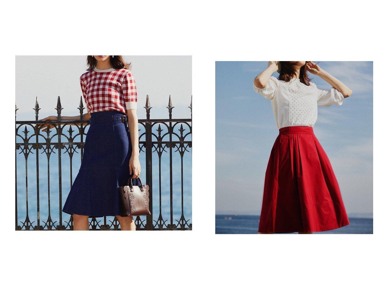 【31 Sons de mode/トランテアン ソン ドゥ モード】のサイドバックルマーメイドスカート&タイプライターカラースカート スカートのおすすめ!人気、トレンド・レディースファッションの通販 おすすめで人気の流行・トレンド、ファッションの通販商品 メンズファッション・キッズファッション・インテリア・家具・レディースファッション・服の通販 founy(ファニー) https://founy.com/ ファッション Fashion レディースファッション WOMEN スカート Skirt Aライン/フレアスカート Flared A-Line Skirts バッグ Bag NEW・新作・新着・新入荷 New Arrivals 2021年 2021 2021 春夏 S/S SS Spring/Summer 2021 S/S 春夏 SS Spring/Summer ギャザー タイプライター フレア ベーシック ラベンダー コンパクト マーメイド |ID:crp329100000023871