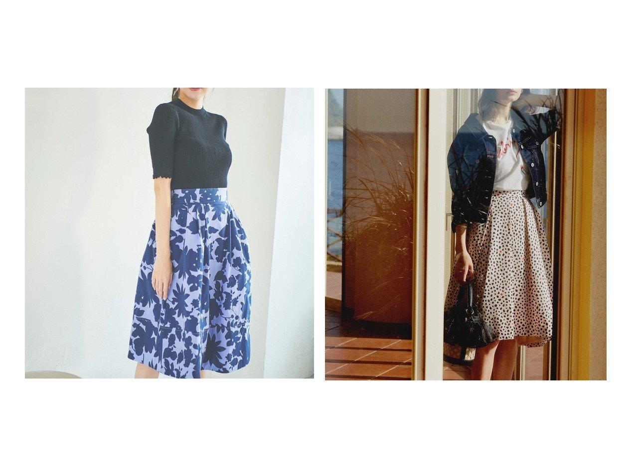 【31 Sons de mode/トランテアン ソン ドゥ モード】のレオパード柄フレアスカート&タイプライター花柄スカート スカートのおすすめ!人気、トレンド・レディースファッションの通販 おすすめで人気の流行・トレンド、ファッションの通販商品 メンズファッション・キッズファッション・インテリア・家具・レディースファッション・服の通販 founy(ファニー) https://founy.com/ ファッション Fashion レディースファッション WOMEN スカート Skirt Aライン/フレアスカート Flared A-Line Skirts NEW・新作・新着・新入荷 New Arrivals 2021年 2021 2021 春夏 S/S SS Spring/Summer 2021 S/S 春夏 SS Spring/Summer ギャザー タイプライター フレア プリント ラベンダー 春 Spring ドット レオパード |ID:crp329100000023872
