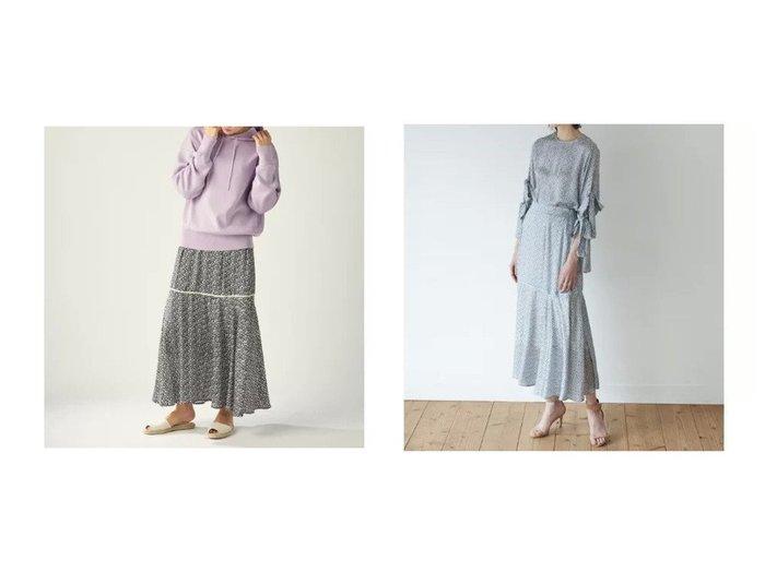 【CLEAR IMPRESSION/クリアインプレッション】の《musee》フラワーティアードスカート スカートのおすすめ!人気、トレンド・レディースファッションの通販 おすすめファッション通販アイテム インテリア・キッズ・メンズ・レディースファッション・服の通販 founy(ファニー) https://founy.com/ ファッション Fashion レディースファッション WOMEN スカート Skirt ティアードスカート Tiered Skirts セットアップ ベーシック |ID:crp329100000023875
