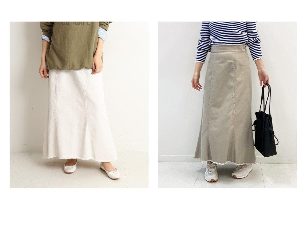 【SLOBE IENA/スローブ イエナ】のコットンチノ フレアスカート スカートのおすすめ!人気、トレンド・レディースファッションの通販 おすすめで人気の流行・トレンド、ファッションの通販商品 メンズファッション・キッズファッション・インテリア・家具・レディースファッション・服の通販 founy(ファニー) https://founy.com/ ファッション Fashion レディースファッション WOMEN スカート Skirt Aライン/フレアスカート Flared A-Line Skirts NEW・新作・新着・新入荷 New Arrivals 2021年 2021 2021 春夏 S/S SS Spring/Summer 2021 S/S 春夏 SS Spring/Summer フリンジ フレア |ID:crp329100000023884
