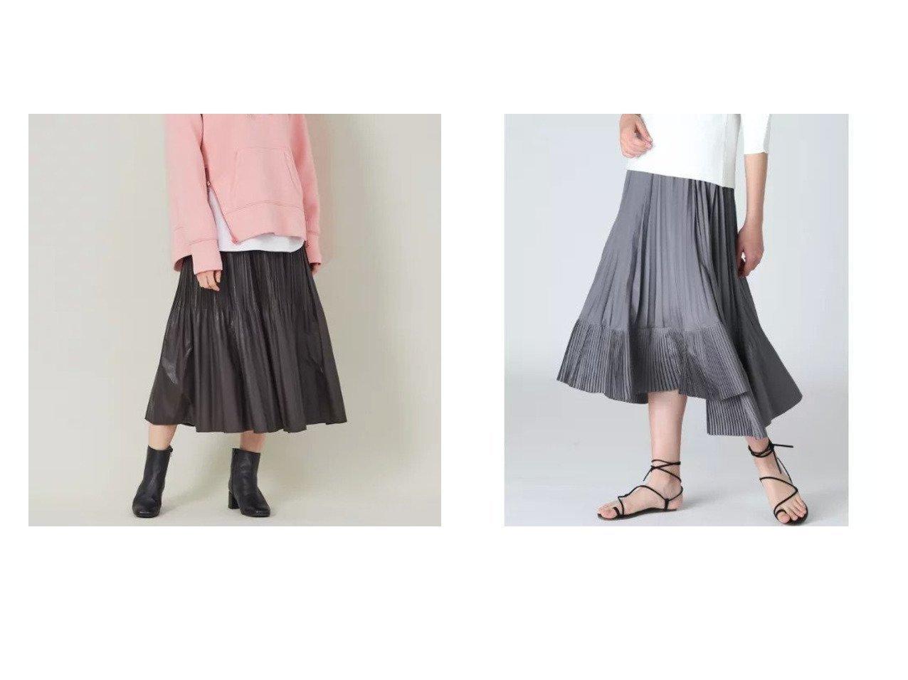 【Rouge vif/ルージュ ヴィフ】の【BRAHMIN】フェイクレザープリーツスカート&【INED/イネド】のヘムプリーツスカート スカートのおすすめ!人気、トレンド・レディースファッションの通販 おすすめで人気の流行・トレンド、ファッションの通販商品 メンズファッション・キッズファッション・インテリア・家具・レディースファッション・服の通販 founy(ファニー) https://founy.com/ ファッション Fashion レディースファッション WOMEN スカート Skirt プリーツスカート Pleated Skirts ショート シンプル ドレープ フェミニン フラット プリーツ マキシ ランダム ロング 今季 イレギュラーヘム シアー シューズ フレア ペチコート 春 Spring |ID:crp329100000023886