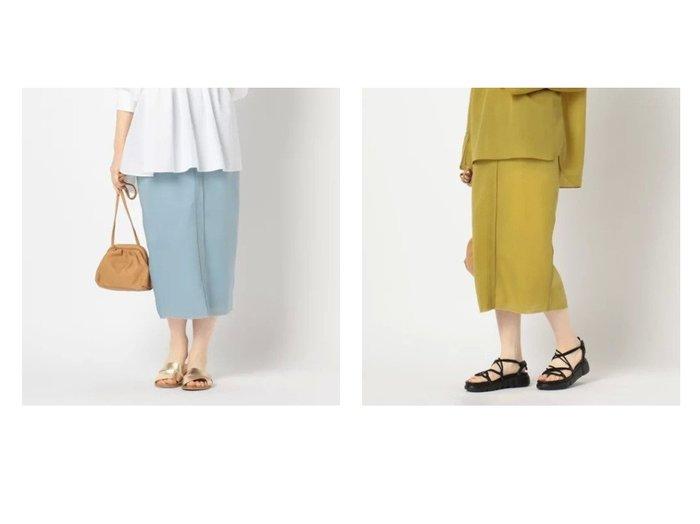 【Rie Miller/リエミラー】のシアーダンボールタイトスカート スカートのおすすめ!人気、トレンド・レディースファッションの通販 おすすめファッション通販アイテム レディースファッション・服の通販 founy(ファニー) ファッション Fashion レディースファッション WOMEN スカート Skirt おすすめ Recommend エアリー シアー スリット セットアップ タイトスカート フェミニン |ID:crp329100000023891