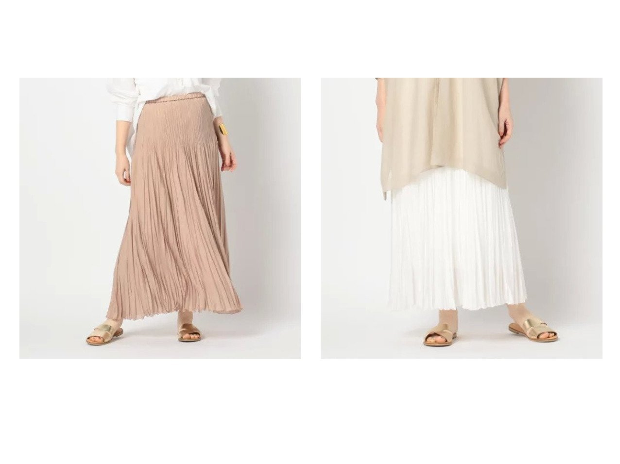 【NOLLEY'S/ノーリーズ】の【アダワス】プリーツロング スカートのおすすめ!人気、トレンド・レディースファッションの通販 おすすめで人気の流行・トレンド、ファッションの通販商品 メンズファッション・キッズファッション・インテリア・家具・レディースファッション・服の通販 founy(ファニー) https://founy.com/ ファッション Fashion レディースファッション WOMEN スカート Skirt エアリー コレクション サンダル シューズ フレア プリーツ マキシ ロング おすすめ Recommend |ID:crp329100000023893