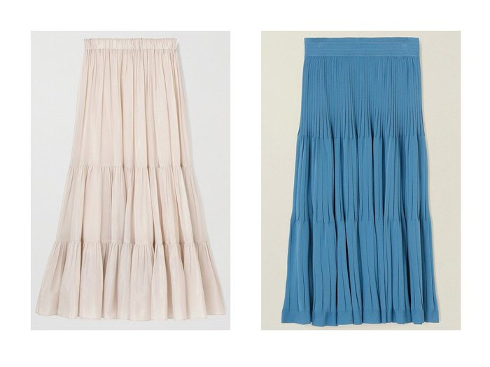 【ANAYI/アナイ】のライトローンティアードスカート&レーヨンナイロンティアードニット スカート スカートのおすすめ!人気、トレンド・レディースファッションの通販 おすすめファッション通販アイテム インテリア・キッズ・メンズ・レディースファッション・服の通販 founy(ファニー) https://founy.com/ ファッション Fashion レディースファッション WOMEN スカート Skirt ティアードスカート Tiered Skirts ロングスカート Long Skirt 2021年 2021 2021 春夏 S/S SS Spring/Summer 2021 S/S 春夏 SS Spring/Summer ギャザー ティアードスカート プリーツ ミックス ロング 春 Spring |ID:crp329100000023895