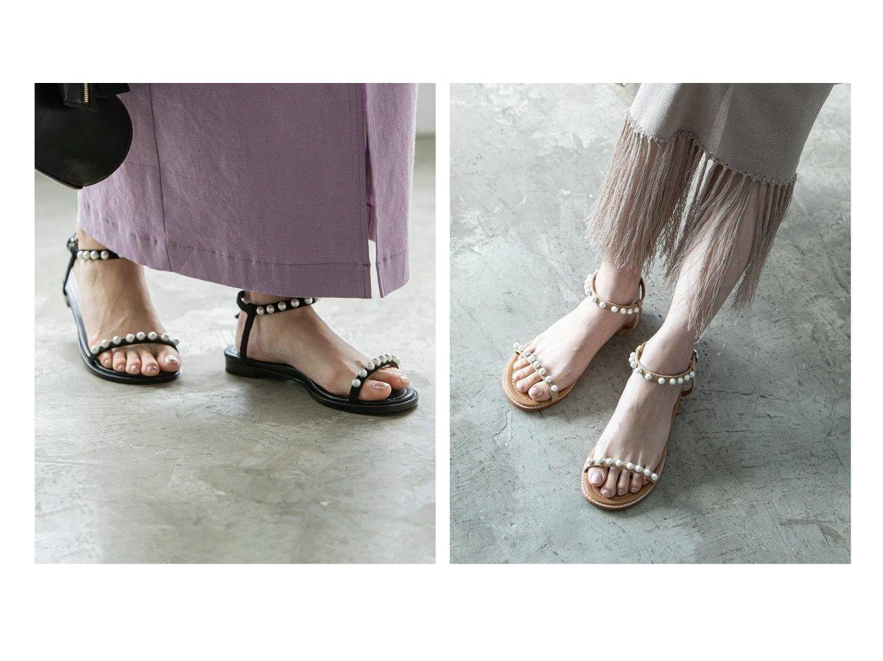 【NOBLE / Spick & Span/ノーブル / スピック&スパン】の《WEB・一部店舗限定追加》【TSURU by MARIKO OIKAWA】パールフラットサンダル シューズ・靴のおすすめ!人気、トレンド・レディースファッションの通販 おすすめで人気の流行・トレンド、ファッションの通販商品 メンズファッション・キッズファッション・インテリア・家具・レディースファッション・服の通販 founy(ファニー) https://founy.com/ ファッション Fashion レディースファッション WOMEN 2021年 2021 2021 春夏 S/S SS Spring/Summer 2021 S/S 春夏 SS Spring/Summer アクセサリー エレガント サンダル シューズ パール フラット ラップ 人気 再入荷 Restock/Back in Stock/Re Arrival |ID:crp329100000023908