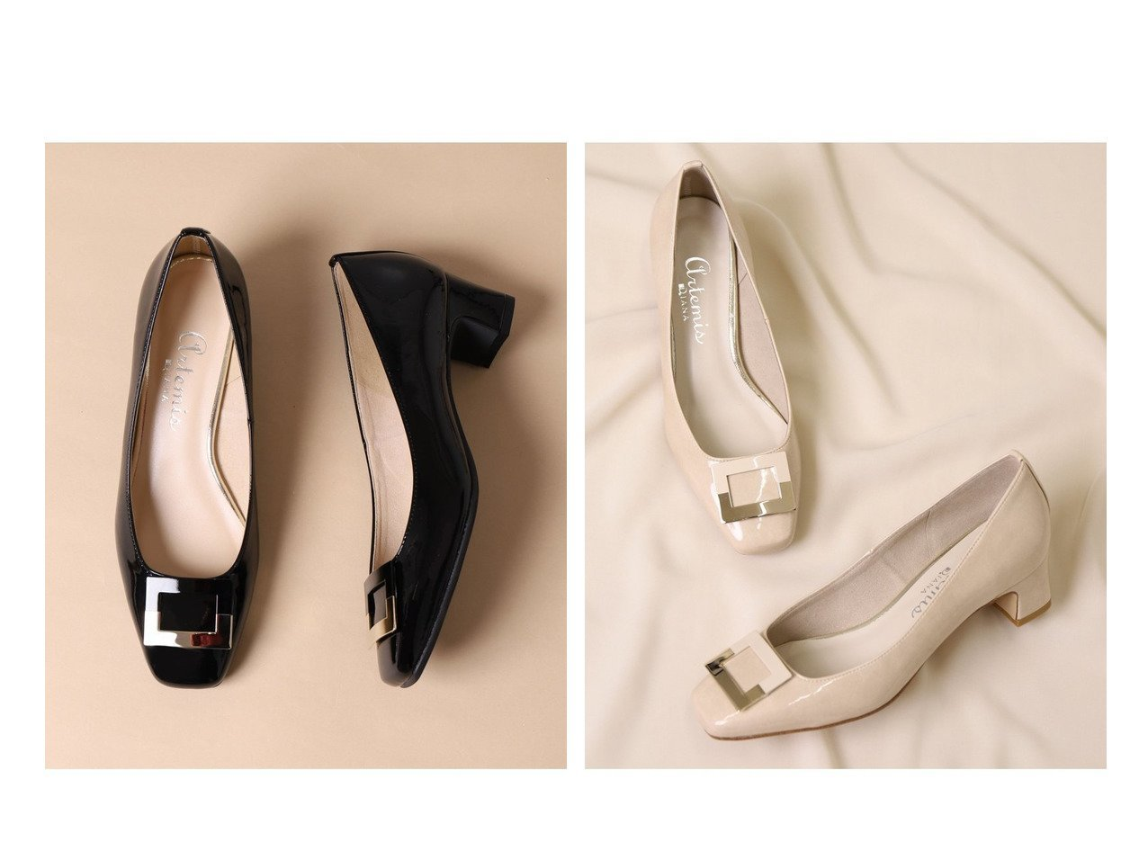 【artemis by DIANA/アルテミス バイ ダイアナ】のバックル付きスクエアトゥパンプス シューズ・靴のおすすめ!人気、トレンド・レディースファッションの通販 おすすめで人気の流行・トレンド、ファッションの通販商品 メンズファッション・キッズファッション・インテリア・家具・レディースファッション・服の通販 founy(ファニー) https://founy.com/ ファッション Fashion レディースファッション WOMEN バッグ Bag シューズ トレンド フィット フォーマル モチーフ 人気 定番 Standard |ID:crp329100000023911