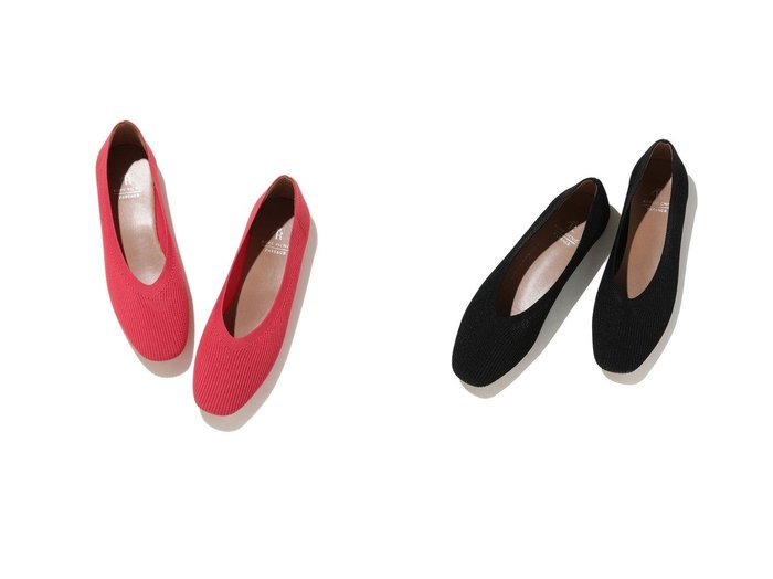 【ROPE'PICNIC PASSAGE/ロペピクニック パサージュ】のロペピクニック パサージュ ROPE PICNIC PASSAGE リブニットソフトスクエアトゥフラットシューズ シューズ・靴のおすすめ!人気、トレンド・レディースファッションの通販 おすすめファッション通販アイテム レディースファッション・服の通販 founy(ファニー)  ファッション Fashion レディースファッション WOMEN シューズ ストッキング ソックス トレンド フラット |ID:crp329100000023918