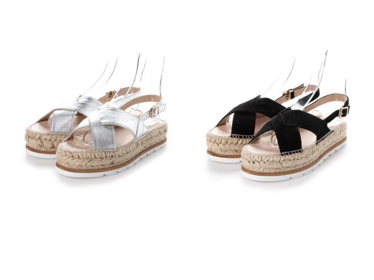 【gaimo/ガイモ】のクロスベルトダブルソールサンダル シューズ・靴のおすすめ!人気、トレンド・レディースファッションの通販 おすすめで人気の流行・トレンド、ファッションの通販商品 メンズファッション・キッズファッション・インテリア・家具・レディースファッション・服の通販 founy(ファニー) https://founy.com/ ファッション Fashion レディースファッション WOMEN ベルト Belts 2020年 2020 2020 春夏 S/S SS Spring/Summer 2020 S/S 春夏 SS Spring/Summer おすすめ Recommend クッション サンダル ジュート フラット ラップ 春 Spring  ID:crp329100000023924