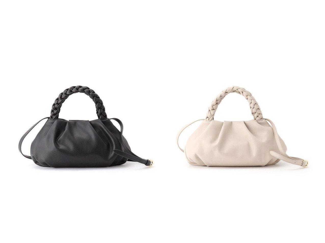 【UNTITLED/アンタイトル】のソフトタック三つ編みハンドバッグ バッグ・鞄のおすすめ!人気、トレンド・レディースファッションの通販 おすすめで人気の流行・トレンド、ファッションの通販商品 メンズファッション・キッズファッション・インテリア・家具・レディースファッション・服の通販 founy(ファニー) https://founy.com/ ファッション Fashion レディースファッション WOMEN バッグ Bag ハンドバッグ フォルム ベーシック ポケット |ID:crp329100000023938