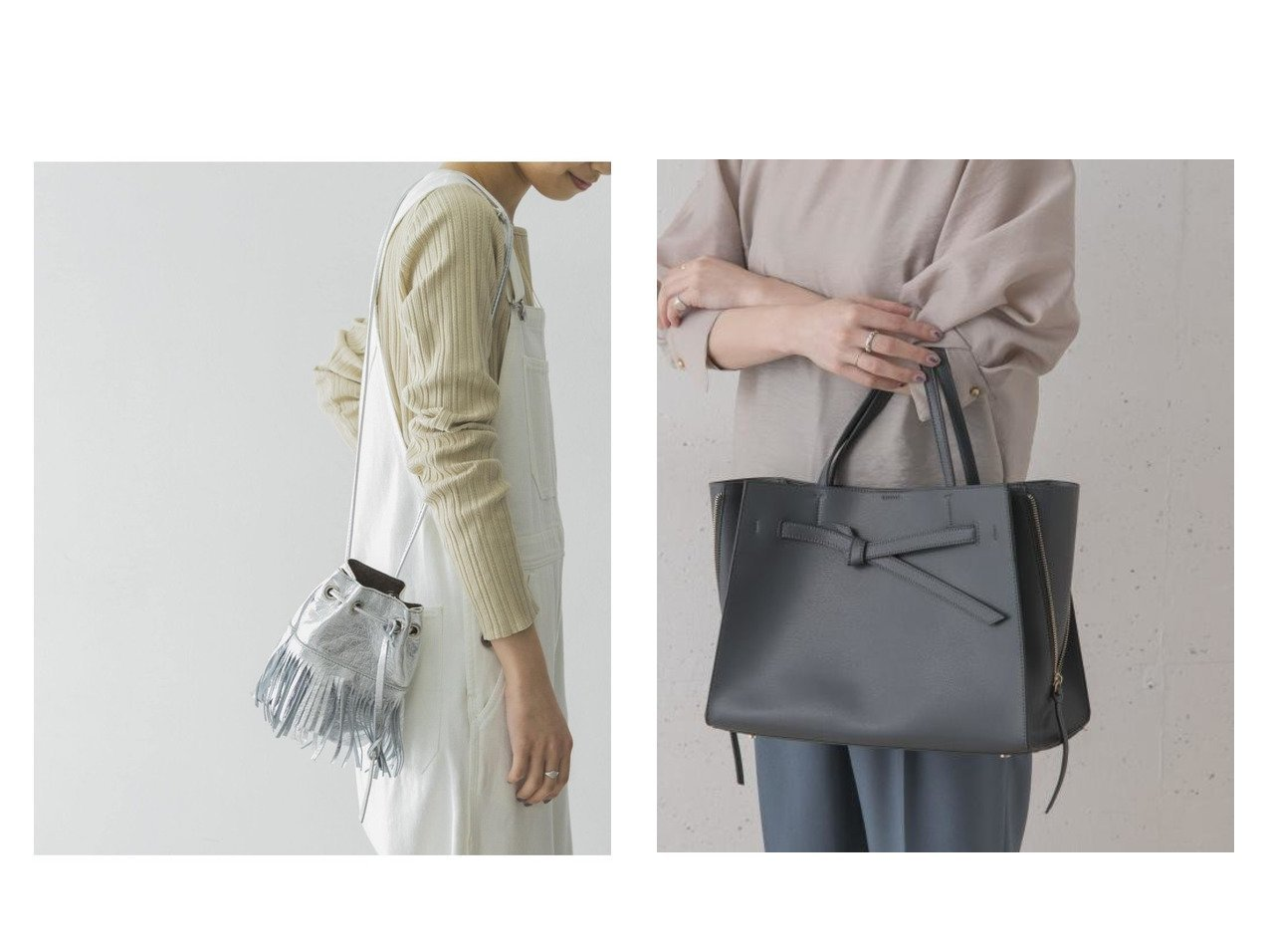 【URBAN RESEARCH/アーバンリサーチ】のMARCO MASI フリンジショルダーバッグ&【URBAN RESEARCH ROSSO/アーバンリサーチ ロッソ】のベルトデザイントート バッグ・鞄のおすすめ!人気、トレンド・レディースファッションの通販 おすすめで人気の流行・トレンド、ファッションの通販商品 メンズファッション・キッズファッション・インテリア・家具・レディースファッション・服の通販 founy(ファニー) https://founy.com/ ファッション Fashion レディースファッション WOMEN バッグ Bag ベルト Belts ミラノ ジップ ハンドバッグ 再入荷 Restock/Back in Stock/Re Arrival |ID:crp329100000023940