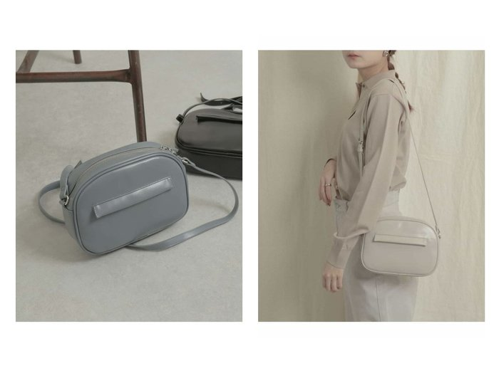 【SENSE OF PLACE / URBAN RESEARCH/センス オブ プレイス】のWファスナーショルダーバッグ バッグ・鞄のおすすめ!人気、トレンド・レディースファッションの通販 おすすめファッション通販アイテム レディースファッション・服の通販 founy(ファニー) ファッション Fashion レディースファッション WOMEN バッグ Bag コンパクト シンプル ポケット 財布 |ID:crp329100000023977