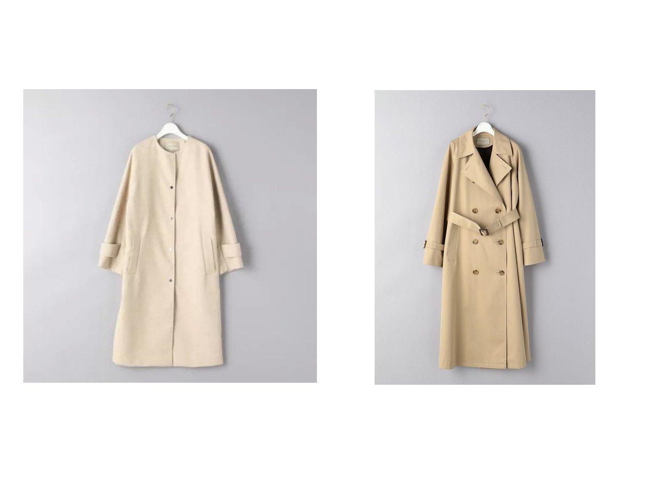 【UNITED ARROWS/ユナイテッドアローズ】のUBC フェイクリネン ノーカラーコート&UBC ギャバ トレンチコート 21SS アウターのおすすめ!人気、トレンド・レディースファッションの通販 おすすめで人気の流行・トレンド、ファッションの通販商品 メンズファッション・キッズファッション・インテリア・家具・レディースファッション・服の通販 founy(ファニー) https://founy.com/ ファッション Fashion レディースファッション WOMEN アウター Coat Outerwear コート Coats ジャケット Jackets トレンチコート Trench Coats NEW・新作・新着・新入荷 New Arrivals 2021年 2021 2021 春夏 S/S SS Spring/Summer 2021 S/S 春夏 SS Spring/Summer ジャケット スリーブ ライナー ロング 定番 Standard イタリア フロント リネン |ID:crp329100000023999