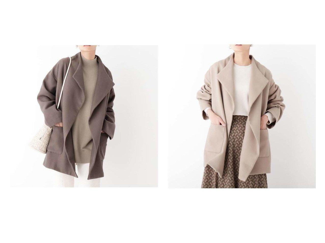 【OPAQUE.CLIP/オペークドットクリップ】の【マルチファンクション】2ダブルクロス ビックカラーショートコート アウターのおすすめ!人気、トレンド・レディースファッションの通販 おすすめで人気の流行・トレンド、ファッションの通販商品 メンズファッション・キッズファッション・インテリア・家具・レディースファッション・服の通販 founy(ファニー) https://founy.com/ ファッション Fashion レディースファッション WOMEN アウター Coat Outerwear コート Coats ジャケット Jackets 春 Spring 秋 Autumn/Fall ジャケット ダブル フォルム ベーシック マキシ NEW・新作・新着・新入荷 New Arrivals おすすめ Recommend |ID:crp329100000024038