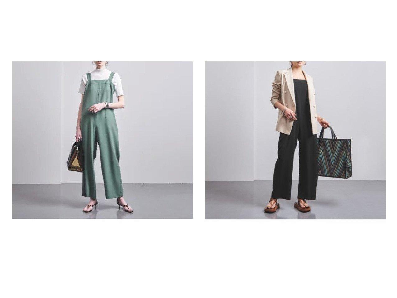【UNITED ARROWS/ユナイテッドアローズ】のUWMSC P バックベルト サロペット† ワンピース・ドレスのおすすめ!人気、トレンド・レディースファッションの通販 おすすめで人気の流行・トレンド、ファッションの通販商品 メンズファッション・キッズファッション・インテリア・家具・レディースファッション・服の通販 founy(ファニー) https://founy.com/ ファッション Fashion レディースファッション WOMEN ワンピース Dress オールインワン ワンピース All In One Dress サロペット Salopette バッグ Bag ベルト Belts おすすめ Recommend インナー サロペット ジャケット ポケット |ID:crp329100000024048