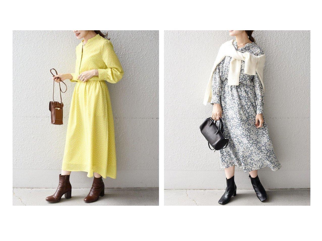 【SHIPS/シップス フォー ウィメン】の【WEB限定】【手洗い可能】プリントロングスリーブVネックワンピース ワンピース・ドレスのおすすめ!人気、トレンド・レディースファッションの通販 おすすめで人気の流行・トレンド、ファッションの通販商品 メンズファッション・キッズファッション・インテリア・家具・レディースファッション・服の通販 founy(ファニー) https://founy.com/ ファッション Fashion レディースファッション WOMEN ワンピース Dress 春 Spring 定番 Standard プリント ルーズ 冬 Winter 再入荷 Restock/Back in Stock/Re Arrival  ID:crp329100000024063