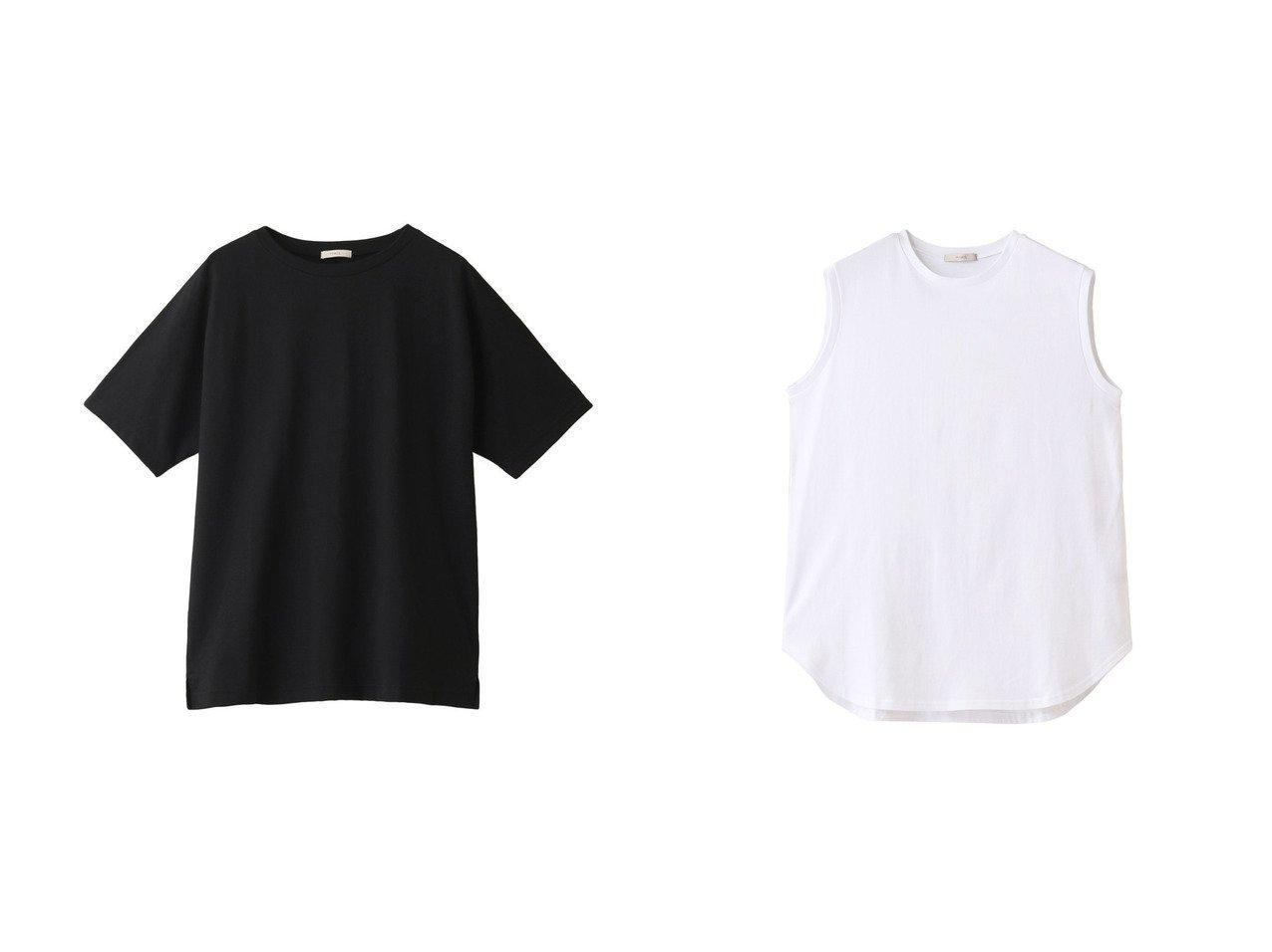 【LE PHIL/ル フィル】のギザンディコットンノースリーブ&ギザンディコットンTシャツ トップス・カットソーのおすすめ!人気トレンド・レディースファッションの通販 おすすめで人気の流行・トレンド、ファッションの通販商品 メンズファッション・キッズファッション・インテリア・家具・レディースファッション・服の通販 founy(ファニー) https://founy.com/ ファッション Fashion レディースファッション WOMEN トップス カットソー Tops Tshirt シャツ/ブラウス Shirts Blouses ロング / Tシャツ T-Shirts カットソー Cut and Sewn キャミソール / ノースリーブ No Sleeves 2021年 2021 2021 春夏 S/S SS Spring/Summer 2021 S/S 春夏 SS Spring/Summer ショート シンプル スリット スリーブ 半袖 春 Spring |ID:crp329100000024084