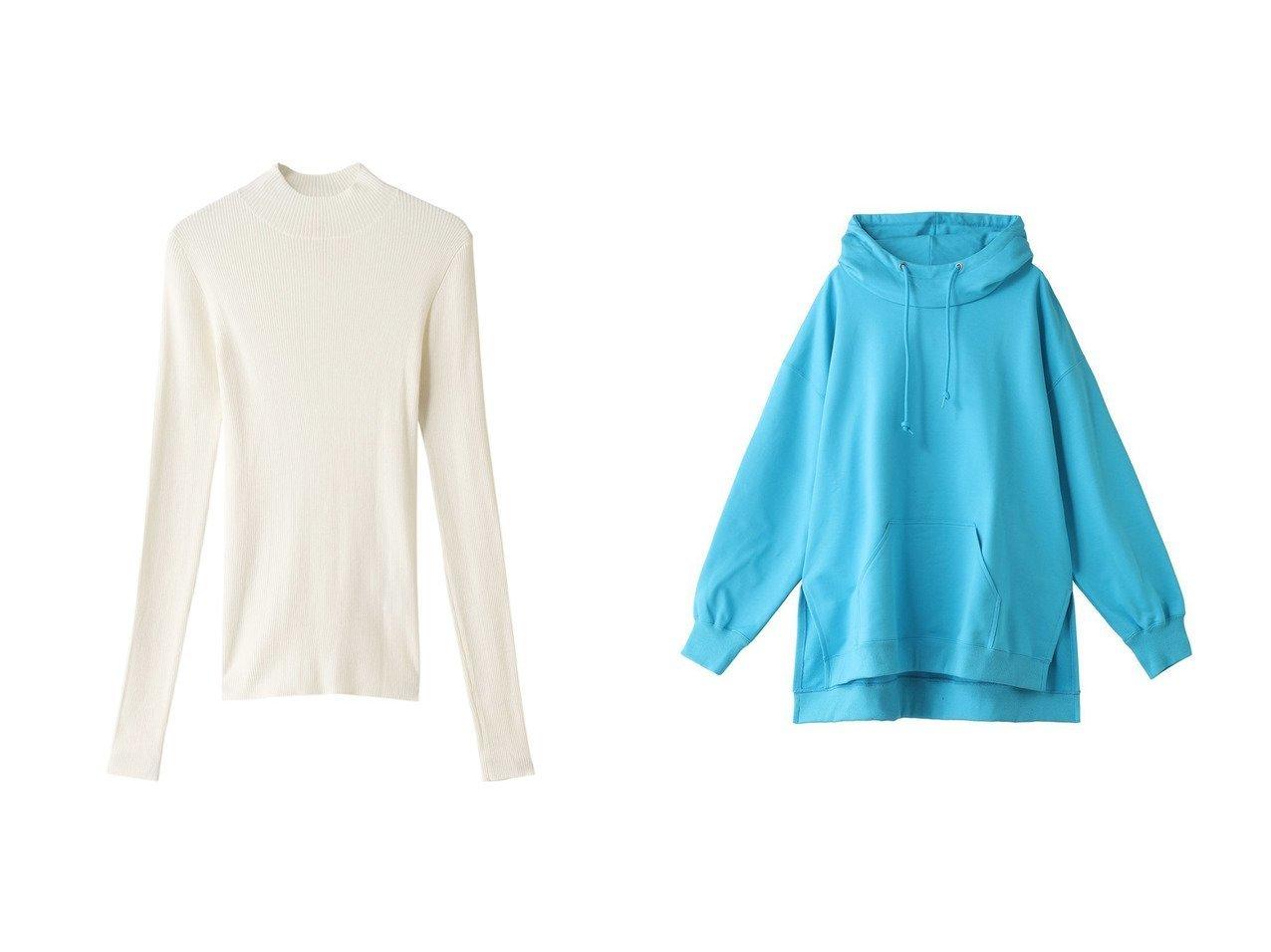 【nagonstans/ナゴンスタンス】のHard Sweat スタンドCパーカー&Airly Cotton ハイネックリブロングスリーブ トップス・カットソーのおすすめ!人気トレンド・レディースファッションの通販 おすすめで人気の流行・トレンド、ファッションの通販商品 メンズファッション・キッズファッション・インテリア・家具・レディースファッション・服の通販 founy(ファニー) https://founy.com/ ファッション Fashion レディースファッション WOMEN トップス カットソー Tops Tshirt シャツ/ブラウス Shirts Blouses ロング / Tシャツ T-Shirts カットソー Cut and Sewn パーカ Sweats スウェット Sweat 2021年 2021 2021 春夏 S/S SS Spring/Summer 2021 S/S 春夏 SS Spring/Summer エアリー シンプル スリーブ ハイネック フィット ロング 春 Spring |ID:crp329100000024088
