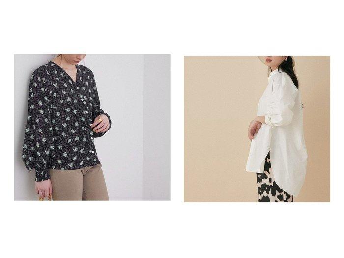 【ADAM ET ROPE'/アダム エ ロペ】のバンドカラーシャツ&【ROPE' mademoiselle/ロペ マドモアゼル】のMARIEフラワープリントパフスリーブブラウス トップス・カットソーのおすすめ!人気、トレンド・レディースファッションの通販 おすすめファッション通販アイテム レディースファッション・服の通販 founy(ファニー) ファッション Fashion レディースファッション WOMEN トップス カットソー Tops Tshirt シャツ/ブラウス Shirts Blouses 花柄・フラワープリント・モチーフ Flower Patterns イエロー オレンジ ヴィンテージ 春 Spring スタンダード デコルテ デニム フェミニン プリント ポケット マニッシュ モチーフ 再入荷 Restock/Back in Stock/Re Arrival カフス フォルム ボトム メタル ロング ワッシャー 2021年 2021 S/S 春夏 SS Spring/Summer 2021 春夏 S/S SS Spring/Summer 2021 NEW・新作・新着・新入荷 New Arrivals |ID:crp329100000024102