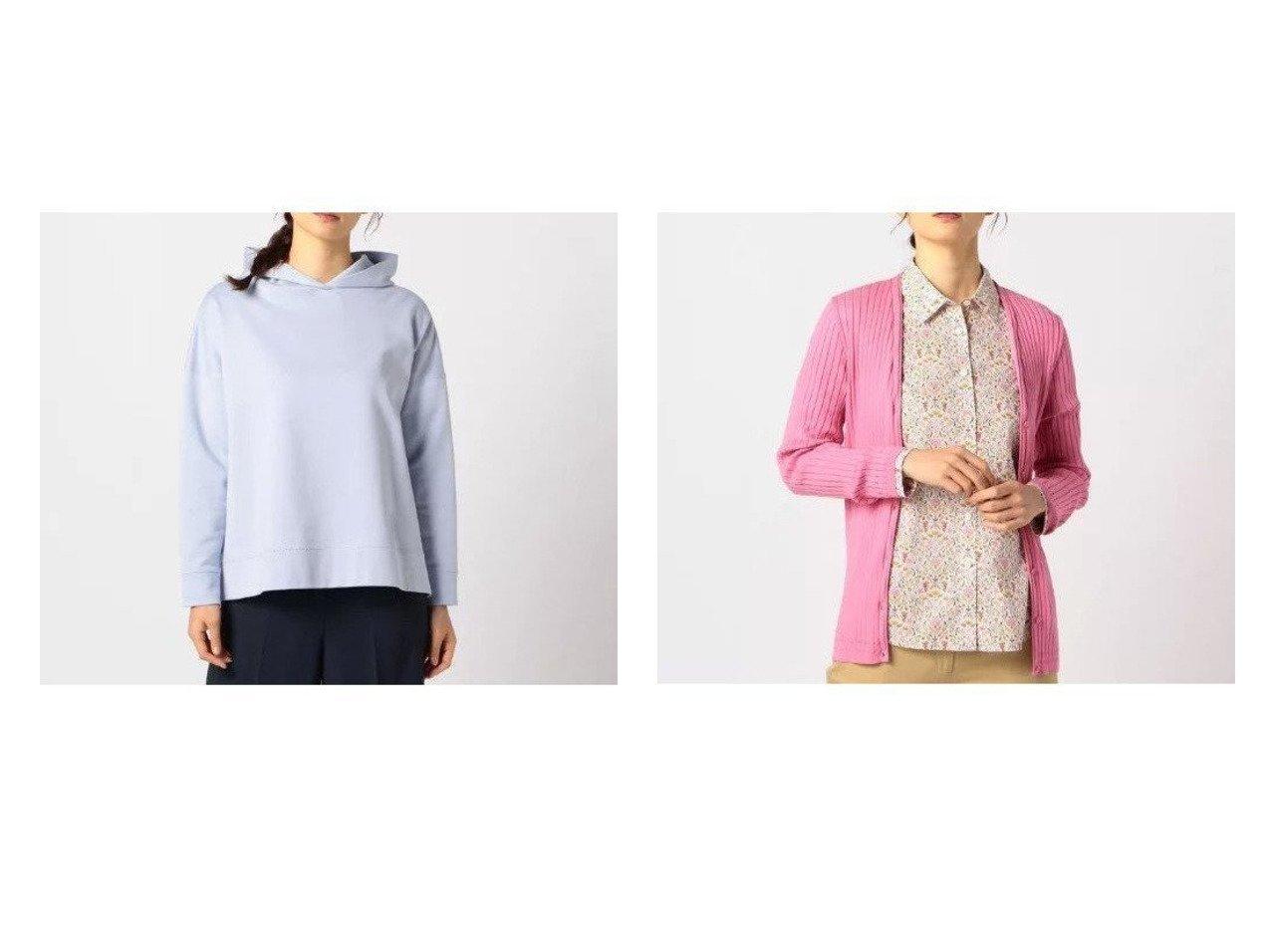【SCAPA/スキャパ】のエンブレムウラケプルオーバーパーカ&リバーニットカーディガン トップス・カットソーのおすすめ!人気、トレンド・レディースファッションの通販 おすすめで人気の流行・トレンド、ファッションの通販商品 メンズファッション・キッズファッション・インテリア・家具・レディースファッション・服の通販 founy(ファニー) https://founy.com/ ファッション Fashion レディースファッション WOMEN トップス カットソー Tops Tshirt パーカ Sweats プルオーバー Pullover スウェット Sweat ニット Knit Tops カーディガン Cardigans ショルダー スウェット スリット トレンド ドロップ バランス パーカー ワンポイント 今季 カーディガン シルク フィット フロント |ID:crp329100000024190