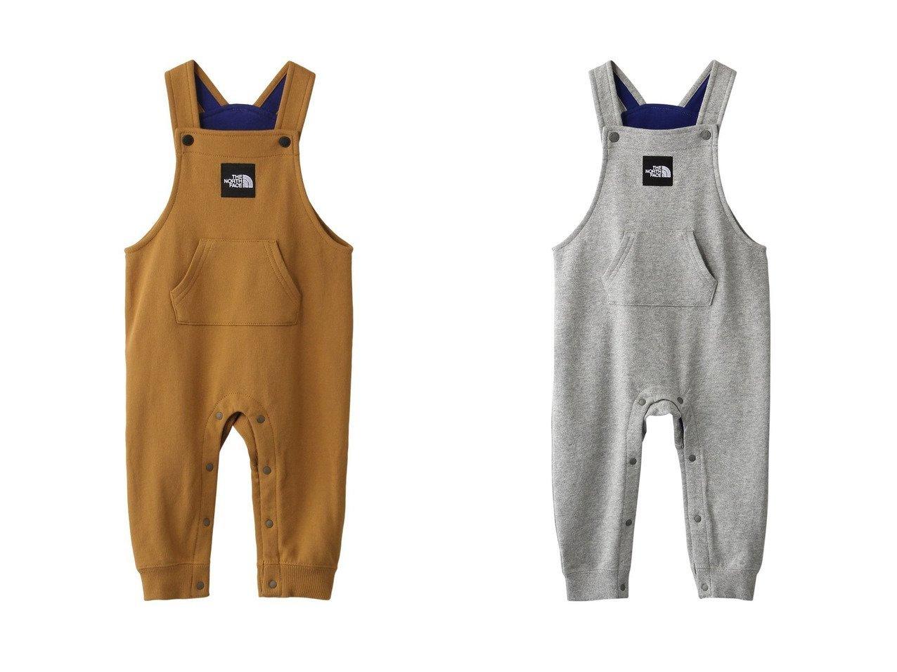 【THE NORTH FACE / KIDS/ザ ノース フェイス】の【BABY】スウェットロゴオーバーオール 【BABY】ベビー服のおすすめ!人気、キッズファッションの通販  おすすめで人気の流行・トレンド、ファッションの通販商品 メンズファッション・キッズファッション・インテリア・家具・レディースファッション・服の通販 founy(ファニー) https://founy.com/ ファッション Fashion キッズファッション KIDS ボトムス Bottoms Kids 2021年 2021 2021 春夏 S/S SS Spring/Summer 2021 S/S 春夏 SS Spring/Summer なめらか フロント ベビー ポケット 春 Spring |ID:crp329100000024356