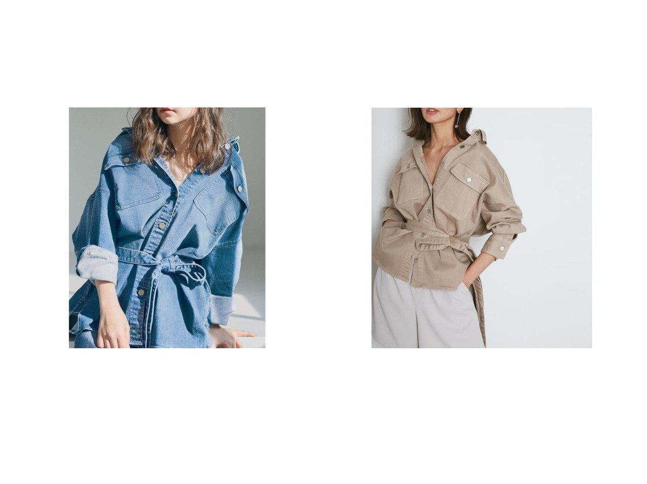 【SNIDEL/スナイデル】の【SNIDEL×Healthy DENIM】シャツジャケット アウターのおすすめ!人気、トレンド・レディースファッションの通販  おすすめで人気の流行・トレンド、ファッションの通販商品 メンズファッション・キッズファッション・インテリア・家具・レディースファッション・服の通販 founy(ファニー) https://founy.com/ ファッション Fashion レディースファッション WOMEN アウター Coat Outerwear ジャケット Jackets 春 Spring ショルダー ジャケット ストレッチ スマート デニム ドロップ ビッグ 羽織 ミニスカート 2021年 2021 S/S 春夏 SS Spring/Summer 2021 春夏 S/S SS Spring/Summer 2021 おすすめ Recommend  ID:crp329100000024380