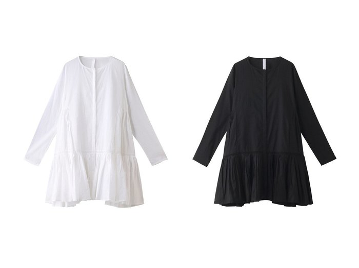 【MERLETTE/マーレット】のMARTEL WITH TRIM チュニックワンピース ワンピース・ドレスのおすすめ!人気、トレンド・レディースファッションの通販  おすすめファッション通販アイテム レディースファッション・服の通販 founy(ファニー) ファッション Fashion レディースファッション WOMEN ワンピース Dress チュニック Tunic 2021年 2021 2021 春夏 S/S SS Spring/Summer 2021 S/S 春夏 SS Spring/Summer チュニック フェミニン フレア 春 Spring 羽織 |ID:crp329100000024422