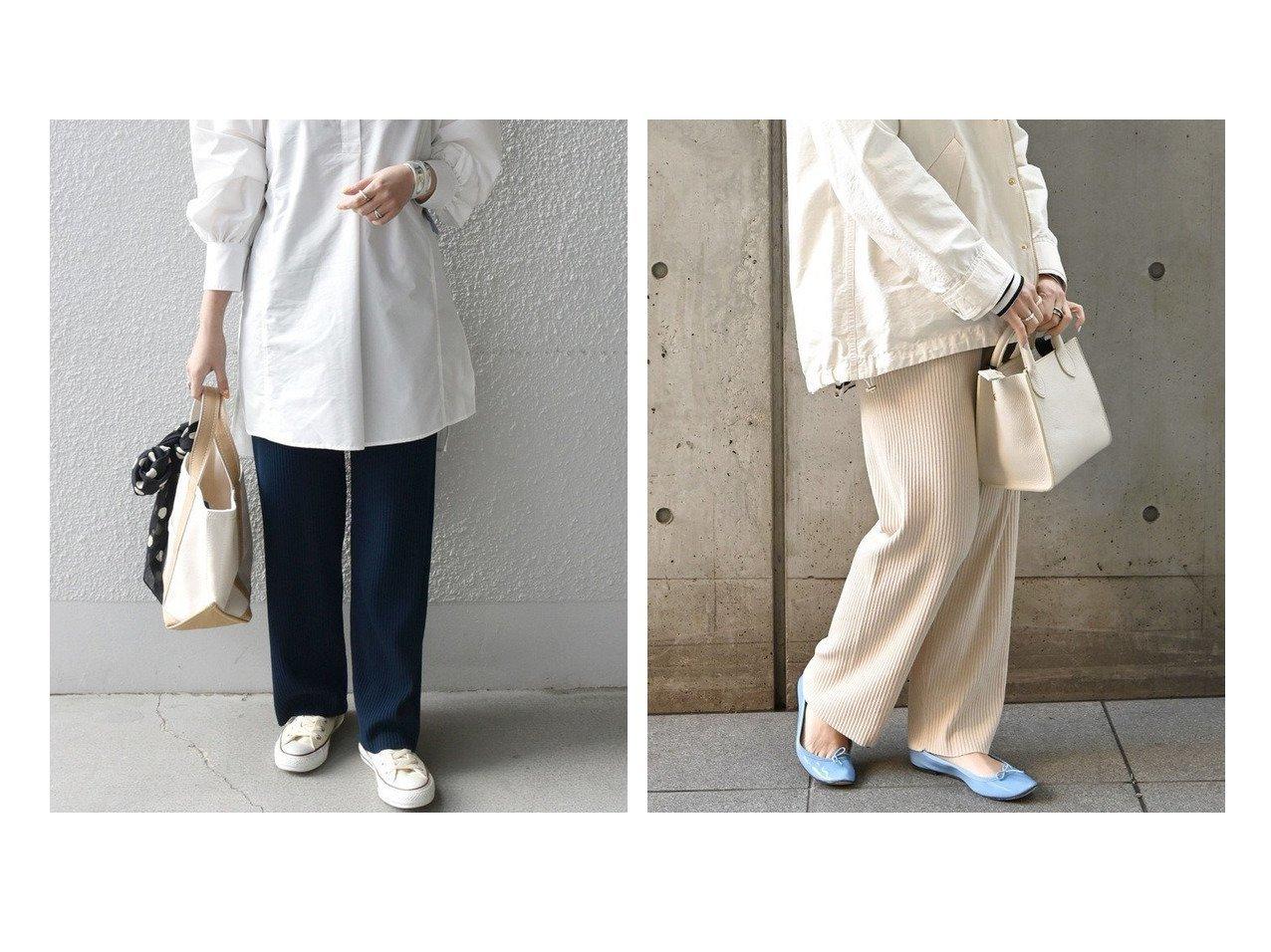 【SHIPS any/シップス エニィ】のSHIPS any リブニット パンツ パンツのおすすめ!人気、トレンド・レディースファッションの通販 おすすめで人気の流行・トレンド、ファッションの通販商品 メンズファッション・キッズファッション・インテリア・家具・レディースファッション・服の通販 founy(ファニー) https://founy.com/ ファッション Fashion レディースファッション WOMEN パンツ Pants おすすめ Recommend スウェット ストレート リブニット ワイドリブ |ID:crp329100000024460