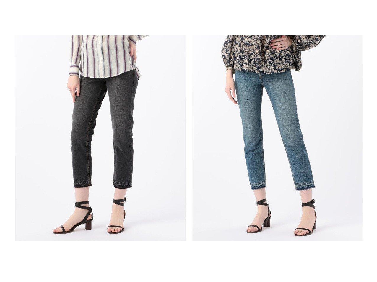 【ISABEL MARANT/イザベル マラン】のISABEL MARANT ETOILE GARANCE コットン フライアウトデニムパンツ パンツのおすすめ!人気、トレンド・レディースファッションの通販 おすすめで人気の流行・トレンド、ファッションの通販商品 メンズファッション・キッズファッション・インテリア・家具・レディースファッション・服の通販 founy(ファニー) https://founy.com/ ファッション Fashion レディースファッション WOMEN パンツ Pants デニムパンツ Denim Pants 2020年 2020 2020 春夏 S/S SS Spring/Summer 2020 S/S 春夏 SS Spring/Summer インド デニム |ID:crp329100000024464