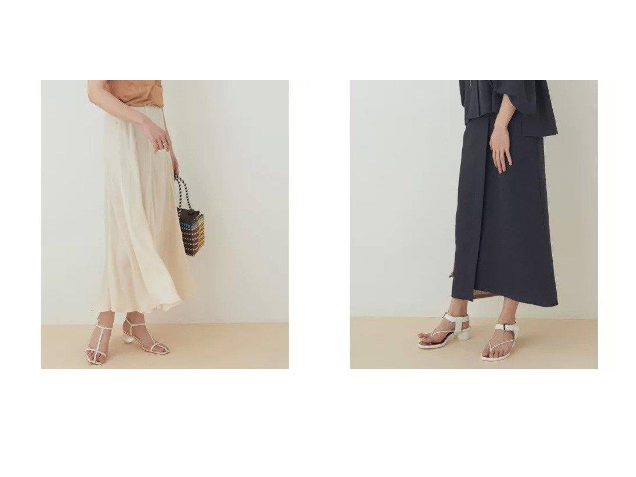 【ADAM ET ROPE'/アダム エ ロペ】のキュプラマーメイドフレアスカート&【セットアップ対応】リネンライクスカート スカートのおすすめ!人気、トレンド・レディースファッションの通販 おすすめで人気の流行・トレンド、ファッションの通販商品 メンズファッション・キッズファッション・インテリア・家具・レディースファッション・服の通販 founy(ファニー) https://founy.com/ ファッション Fashion レディースファッション WOMEN スカート Skirt Aライン/フレアスカート Flared A-Line Skirts セットアップ Setup スカート Skirt 春 Spring キュプラ 今季 サンダル スニーカー とろみ ドレープ フラット フレア ペチコート ポケット マキシ リラックス ロング 2021年 2021 S/S 春夏 SS Spring/Summer 2021 春夏 S/S SS Spring/Summer 2021 おすすめ Recommend |ID:crp329100000024483