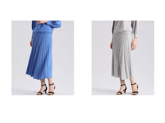 【INED/イネド】のホールガーメント(R)ニットフレアスカート《Cuoo》 スカートのおすすめ!人気、トレンド・レディースファッションの通販 おすすめファッション通販アイテム レディースファッション・服の通販 founy(ファニー) ファッション Fashion レディースファッション WOMEN スカート Skirt Aライン/フレアスカート Flared A-Line Skirts カットソー キュプラ 吸水 シンプル セットアップ ドレープ プリーツ ペチコート ホールガーメント リラックス 冬 Winter おすすめ Recommend |ID:crp329100000024491